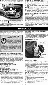 Weed Eater Fb25 User Manual Blower Manuals And Guides L0905231