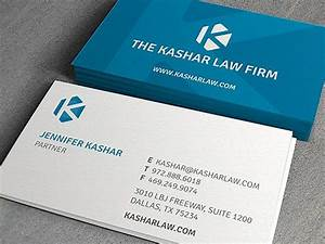Kashar law firm business cards business cards the for Law firm business card