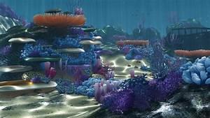 Cartoon Underwater 3d Model