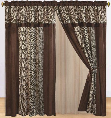animal print curtains animal print curtains ebay