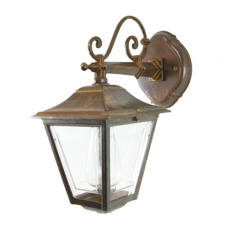 traditional cast brass outdoor wall light pub wall light