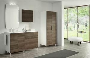 Pieds De Meuble En Bois : design interieur meubles sur pieds texture bois salle bains meubles salle de bains modernes ~ Teatrodelosmanantiales.com Idées de Décoration