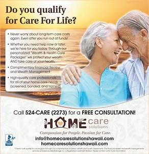 The Care for Life Program - Home Care Solutions Hawaii