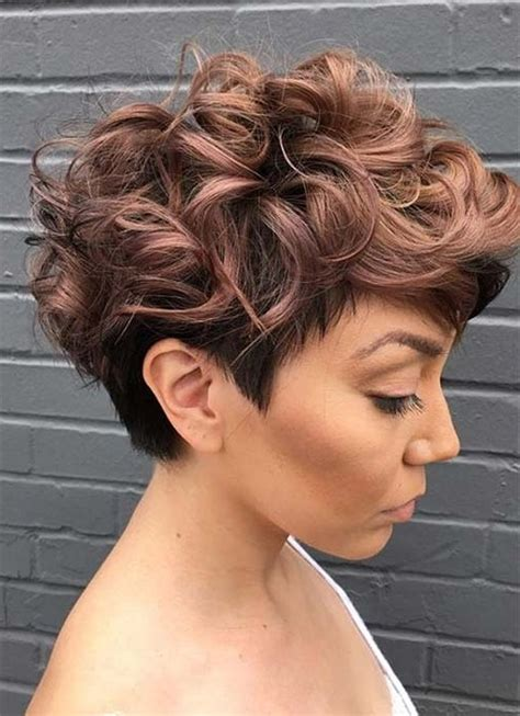 collection  growing  pixie haircuts  curly hair