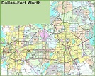 Map Of Dallas Fort Worth Police Departments Pictures to ...