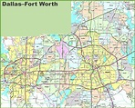 Dallas Fort Worth Map – Fashion dresses