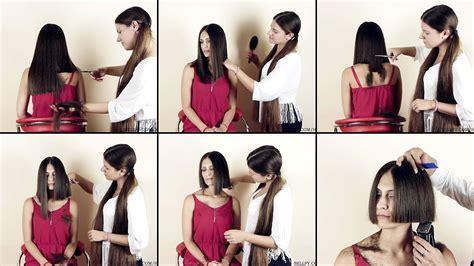 Nikolina Long To Wedge Bob Haircut Preview