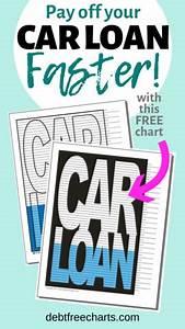 Debt Free Charts Car Loan Payoff Chart Debt Free Charts