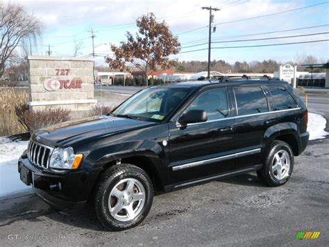 black jeep grand cherokee 2006 black jeep grand cherokee limited 4x4 41631777 photo