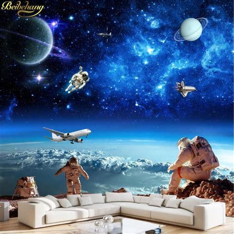 beibehang papel de parede  cosmic starry galaxy photo