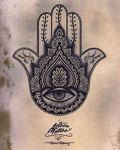 hamsa tattoo | Hand of Fatima Sketch Tattoo | Hamsa Me ...