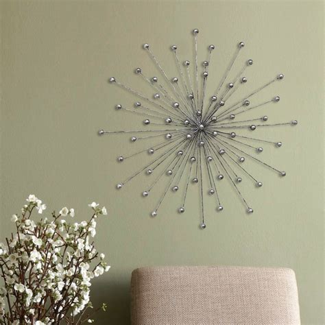 Shop with afterpay on eligible items. Silver Burst Wall Décor - Stratton Home Decor
