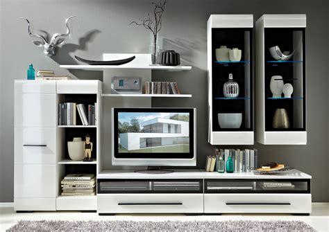 Fever 2 Brw Living Room Furniture Set White Gloss Polish
