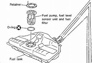 Where Is The Fuel Filter On A 2003 Maxima Located