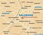 Salzburg Maps and Orientation: Salzburg, Austria