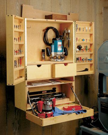 router bit cabinet woodsmith plans woodworking tools