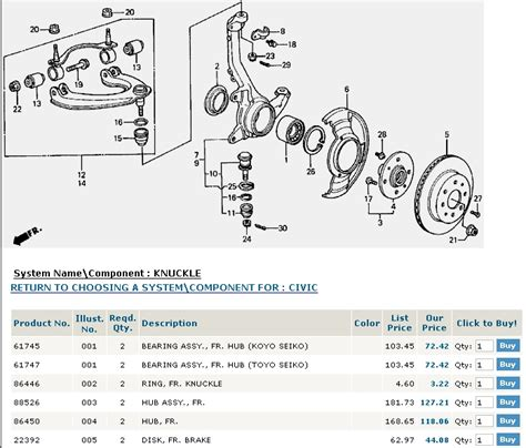 service manual diagram  change wheel bearing