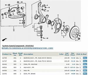 Service Manual  Diagram To Change Wheel Bearing On A 2009