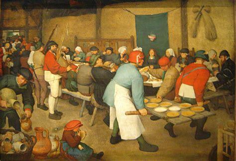 Banchetto Nuziale by Pieter Bruegel Banchetto Nuziale 1568 Commento Di