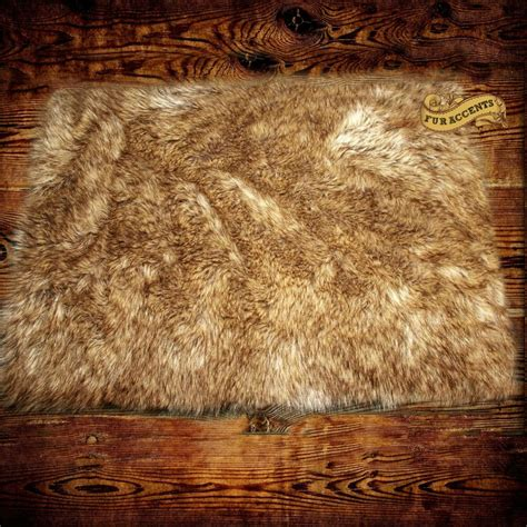Skin Rug With by Wolf Skin Shag Area Rug Faux Fur Accent Throw Carpet