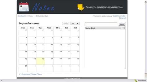 notee aplikasi alternatif  mencatat kegiatan harian kamu