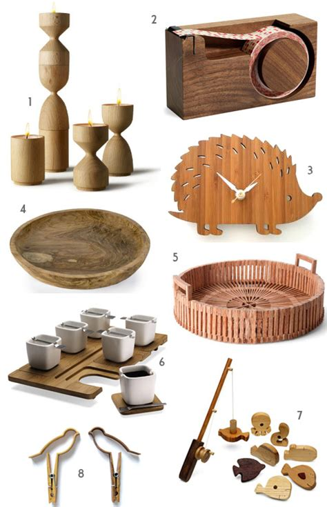 gifts made from wood featured on my blog the style files
