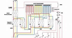 Wiring Diagram Rangkaian Auto Trafo  Auto Transformer