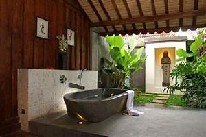Bathroom With Its Own Veranda Tropical Bathroom By