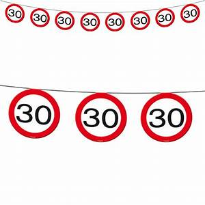 30 Dinge Zum 30 Geburtstag : 30 geburtstag deko party verkehrsschild verkehrszeichen schild jubil um tisch ebay ~ Bigdaddyawards.com Haus und Dekorationen