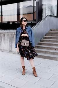 Kleid Mit Jeansjacke : so style ich meine chlo rylee cutout boots mit jeansjacke und kleid ~ Frokenaadalensverden.com Haus und Dekorationen