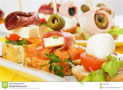 canapé buffet froid buffet froid image libre de droits image 18841856