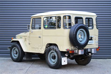sold toyota land cruiser bj  diesel swb auctions