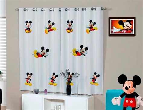 cortinas mickey cortina infantil mickey e minnie disney personalizada nome