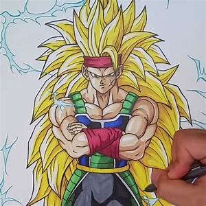 Drawing Bardock Super Saiyan 3 Dragonball Z Tolgart