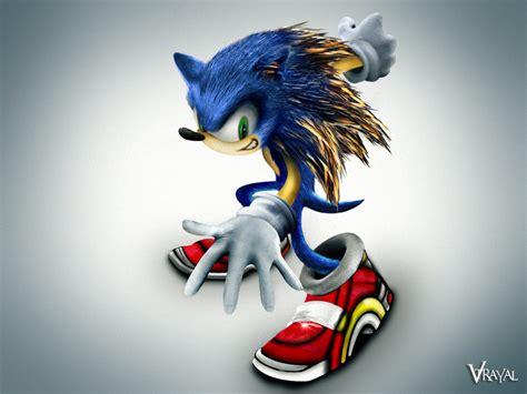 The Real Sonic The Hedgehog By V Trayal On Deviantart