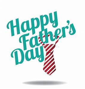 Happy Fathers Day Tie Design EPS 10 Vector Stock Vector ...