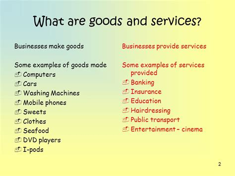 Unit 1(1) Goods And Services, Needs And Wants  Ppt Video