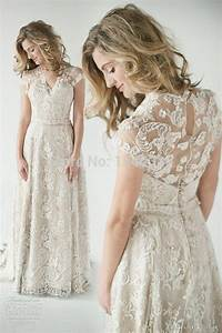 2015 lace back wedding dresses a vintage inspired sheer With wedding dress with lace back