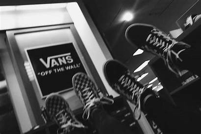 Aesthetic Vans Friends Artsy Grunge Gray Pretty