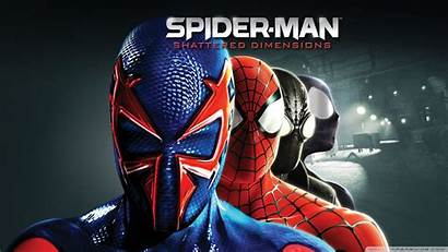 Dimensions Spider Shattered Spiderman Cool Wallpapers Dimension