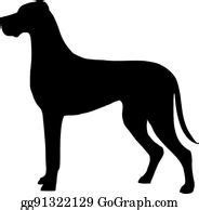 Also you can search for other artwork with our tools. Great Dane Clip Art - Royalty Free - GoGraph