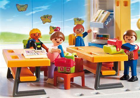 playmobil 5923 ecole avec 3 salles de classe achat vente playmobil 5923 ecole 3 salles