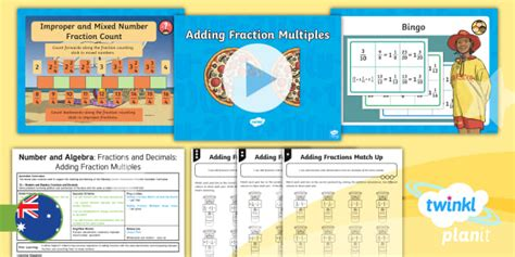 * New * Planit Mathematics Year 6 Number And Algebra Fractions And Decimals