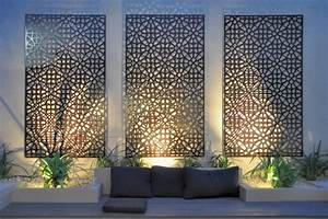 Wall Art Designs: Best metal hanging contemporary outdoor