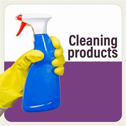 Cleaning Labels Supplies Clean Demand Instantly Act
