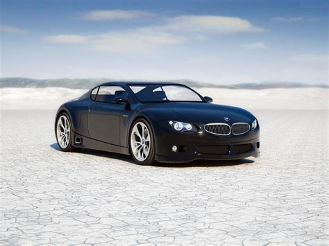 Black Bmw M Zero Luxury Car Hd Wallpaper