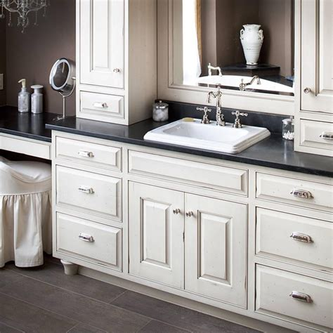 Countertop Bathroom Cabinet by Considerations For Selecting Bathroom Countertop Storage