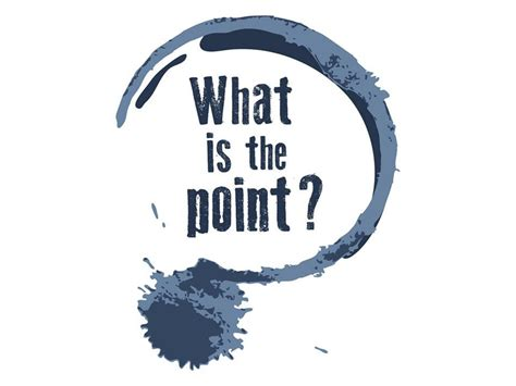 What Is The Point?  Wall Street International Magazine