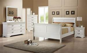 White sleigh bed orange county white queen bed anaheim for Bedroom furniture sets orange county