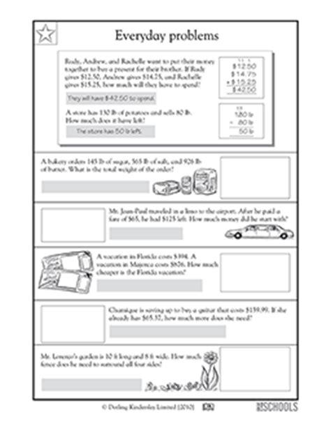 everyday math printable worksheets 2nd grade 2nd grade